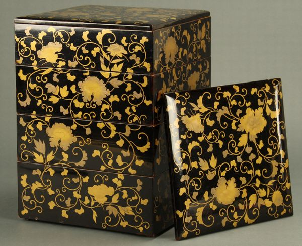2-47japanese gold lacquer,makie
