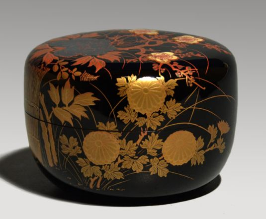 2-224japanese gold lacquer,makie