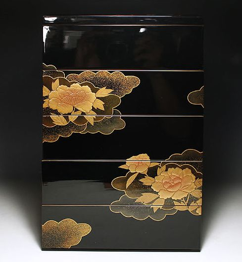 japanese gold lacquer,makie4-128