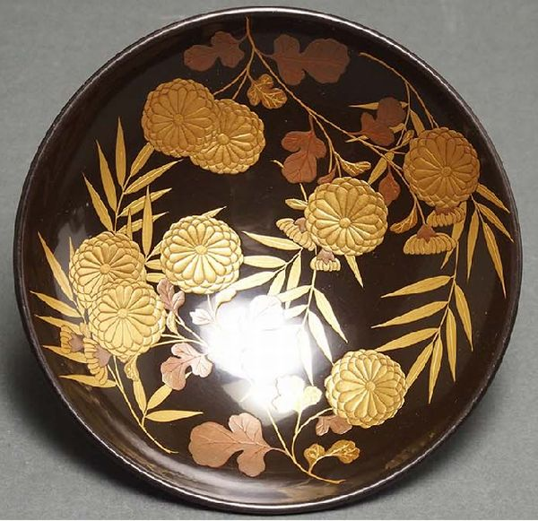 2-227japanese gold lacquer,makie