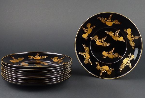 japanese gold lacquer,makie5-84