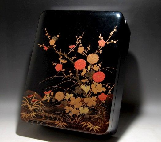 2-235japanese gold lacquer,makie