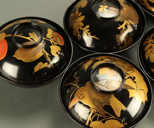 japanese gold lacquer,makie5-91