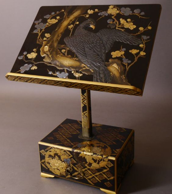 2-237japanese gold lacquer,makie