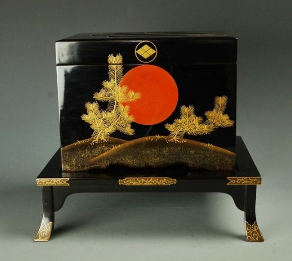 japanese gold lacquer,makie5-92