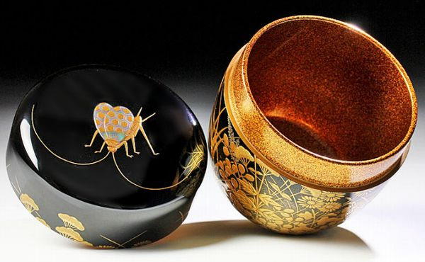 2-241japanese gold lacquer,makie