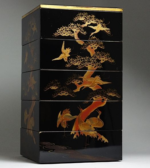 japanese gold lacquer,makie4-141
