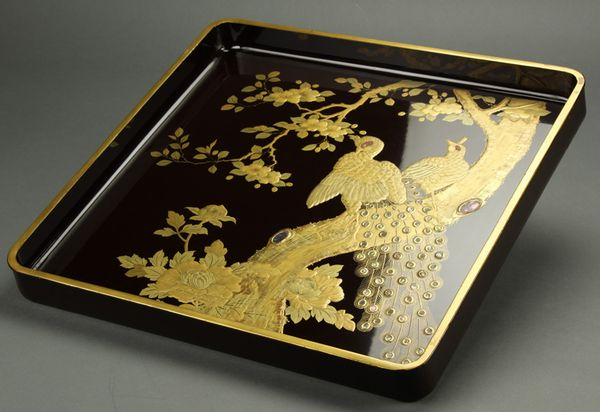 japanese gold lacquer,makie4-82