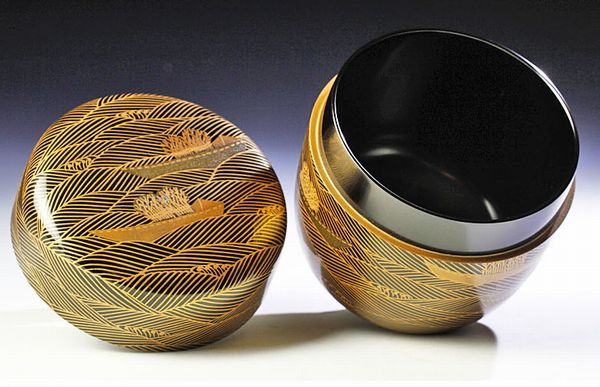 japanese gold lacquer,makie4-226