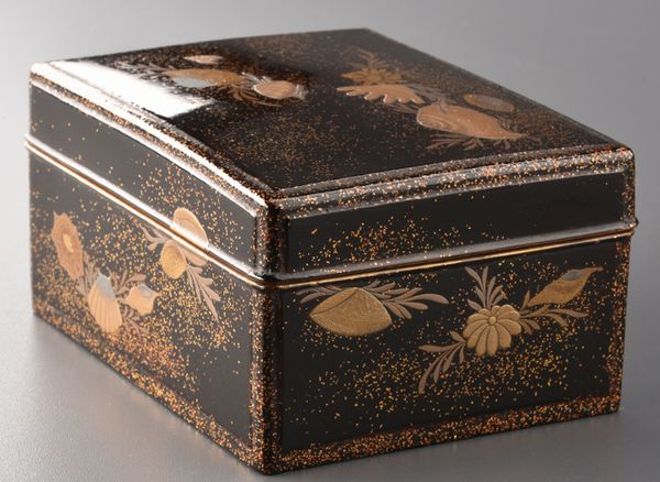 2-275japanese gold lacquer,makie