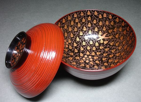 2-138japanese gold lacquer,makie