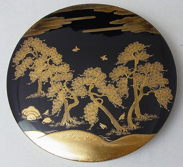 2-5japanese gold lacquer,makie