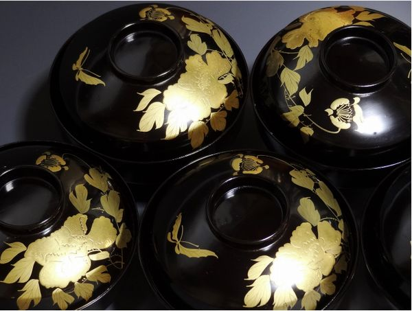 2-245japanese gold lacquer,makie