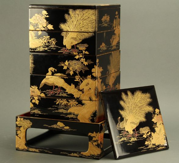 japanese gold lacquer,makie5-100