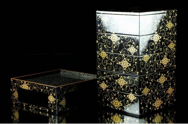 2-246japanese gold lacquer,makie