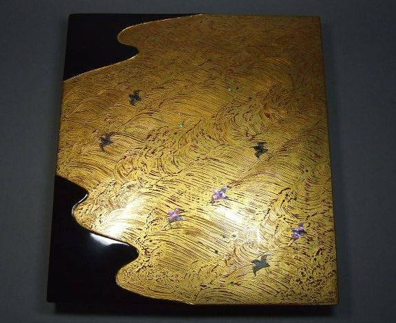 japanese gold lacquer,makie4-192
