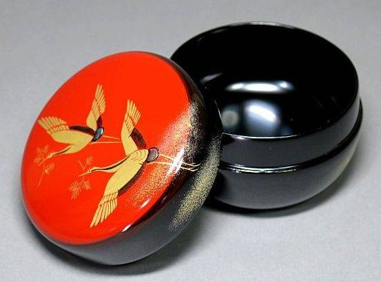 2-259japanese gold lacquer,makie