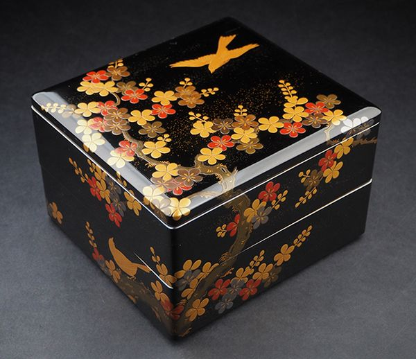 2-139japanese gold lacquer,makie
