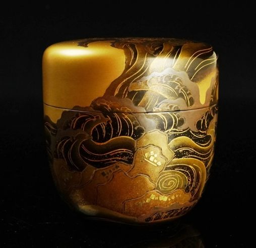 2-83japanese gold lacquer,makie