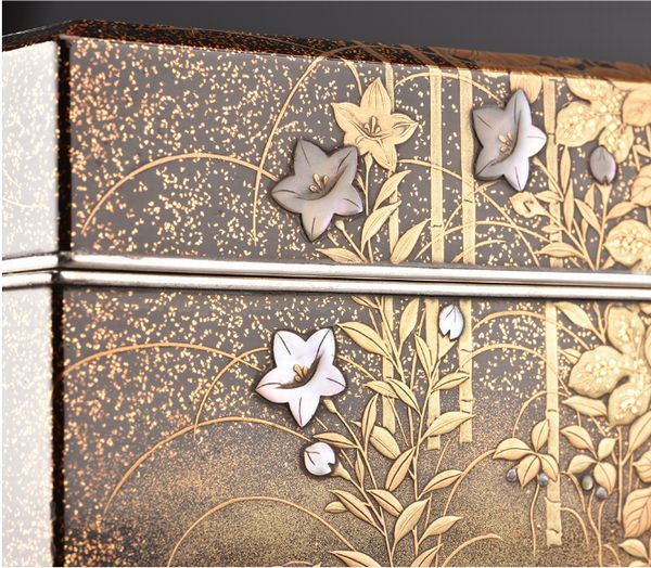 8japanese gold lacquer Writing box 09252252