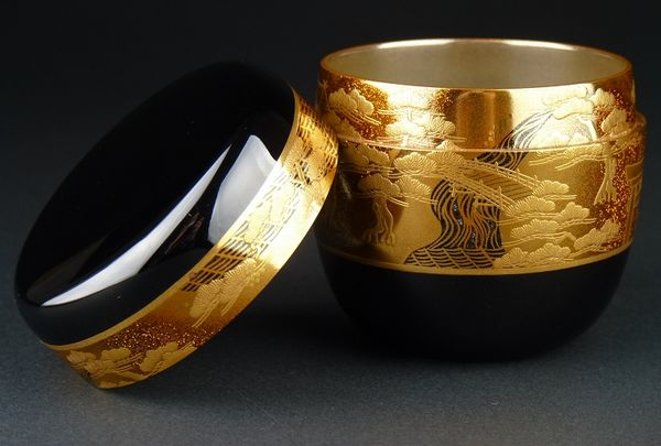 japanese gold lacquer,makie4-157