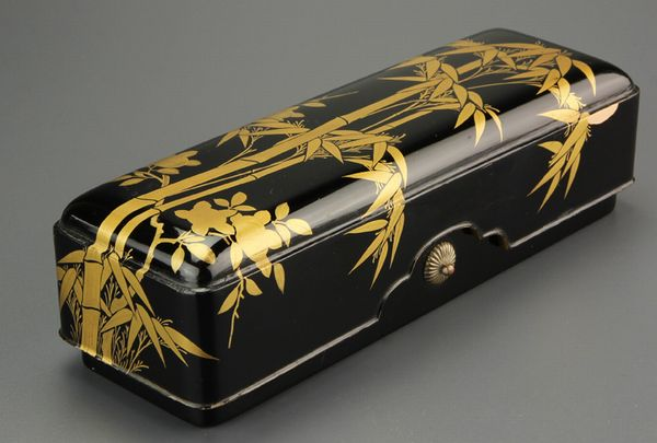 2-260japanese gold lacquer,makie