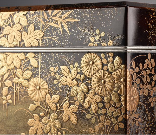 9japanese gold lacquer Writing box 09252252