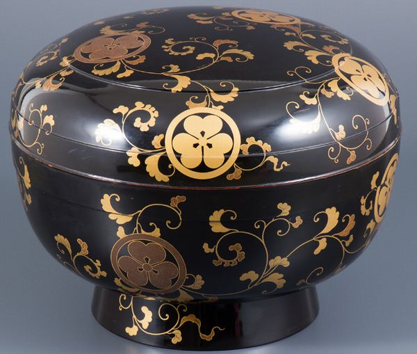 101japanese gold lacquer makie