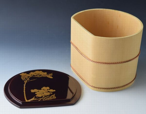 167japanese gold lacquer makie
