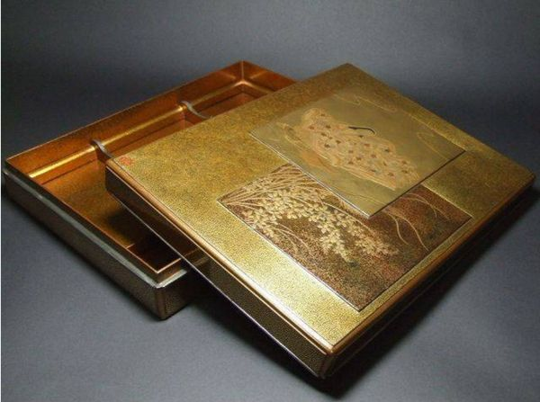 115japanese gold lacquer makie