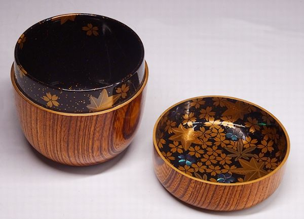 84japanese gold lacquer makie