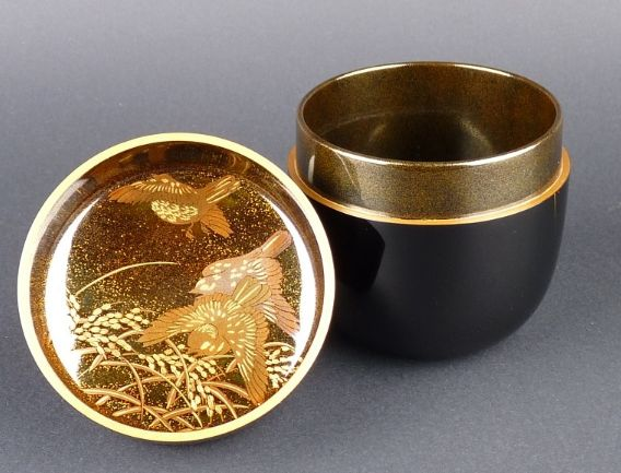 161japanese gold lacquer makie