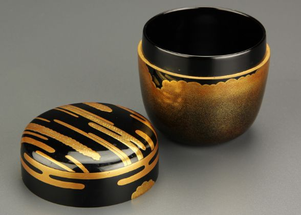 139japanese gold lacquer makie