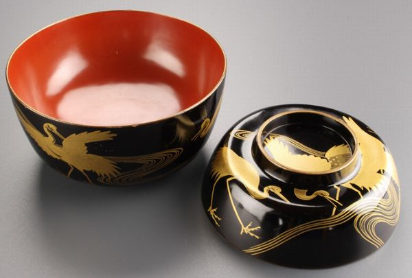 144japanese gold lacquer makie