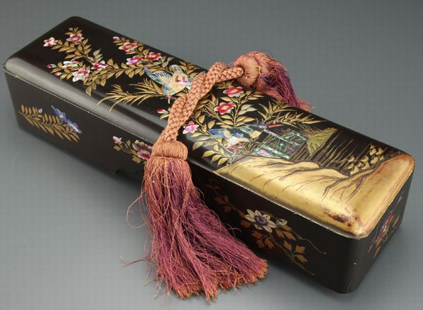79japanese gold lacquer makie