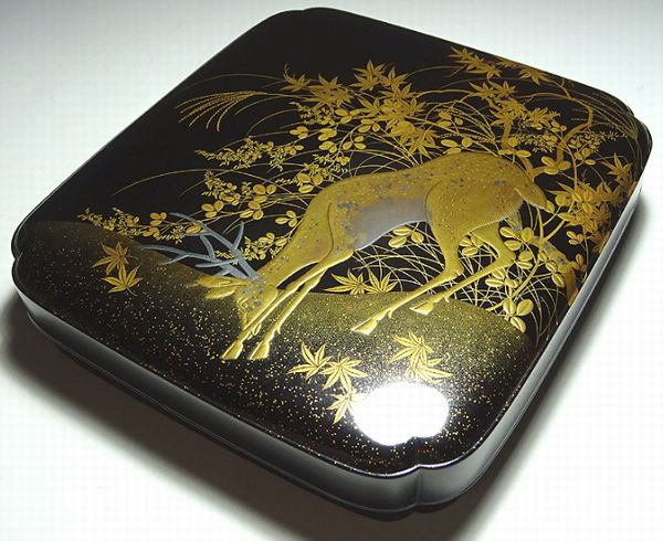 30japanese gold lacquer makie