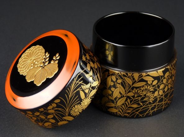 96japanese gold lacquer makie
