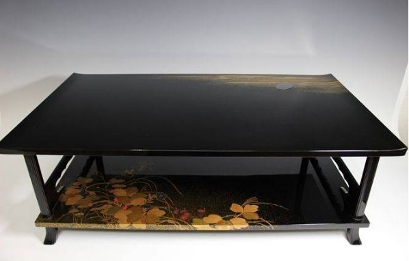 140japanese gold lacquer makie